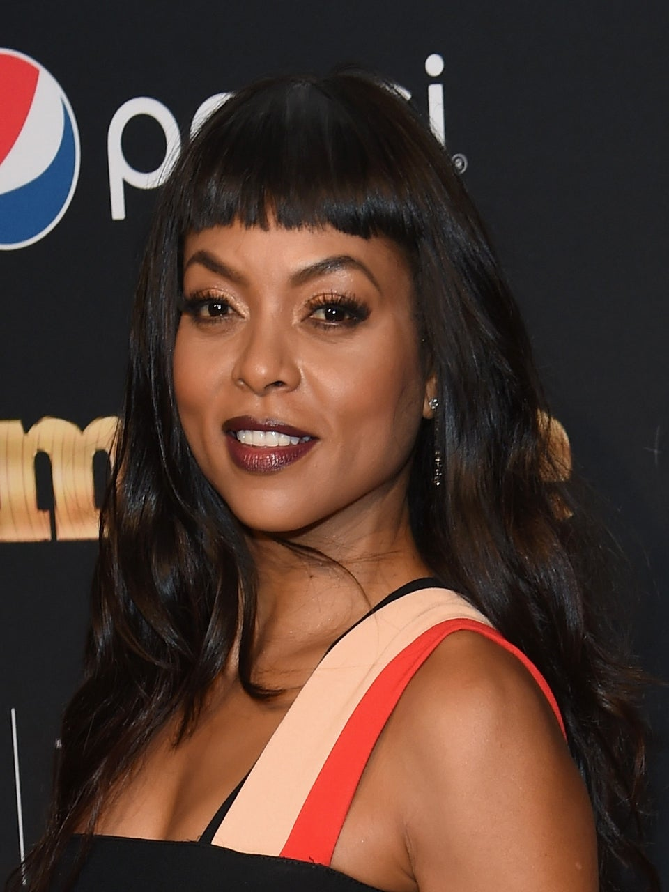 Taraji P. Henson Just Got Extreme Bangs