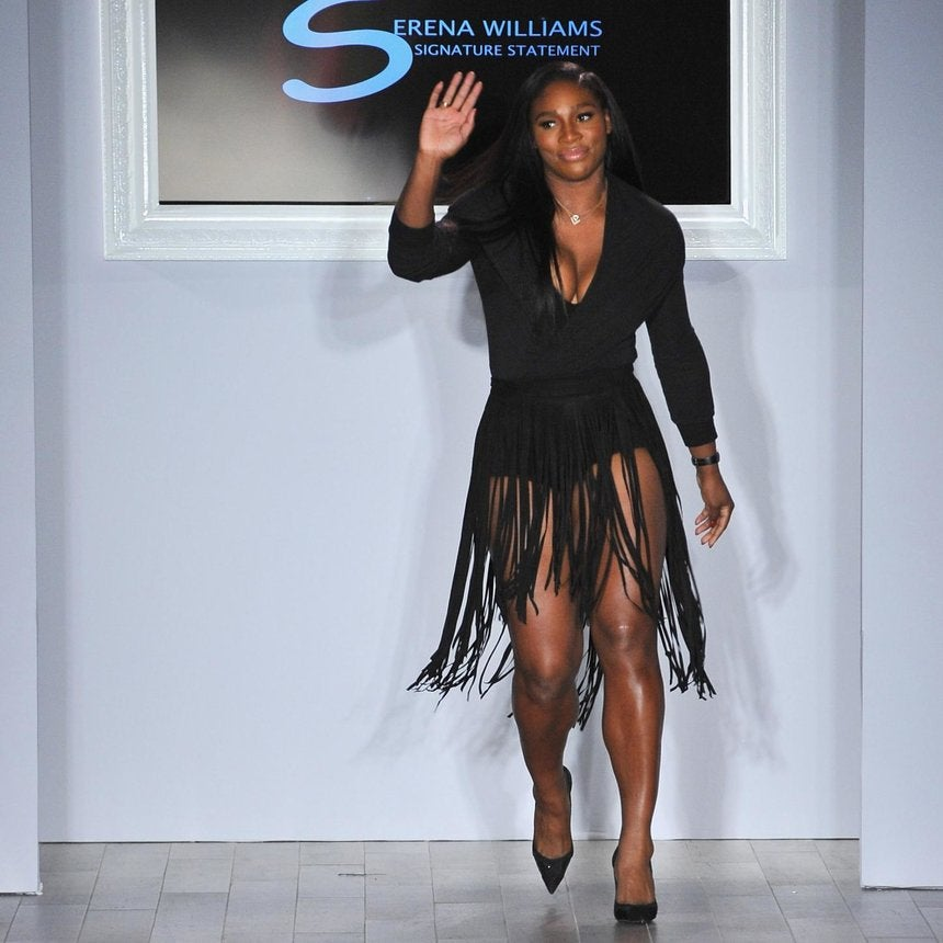 Coffee Talk: Serena Williams Unveils Fashion Line at New York Fashion Week