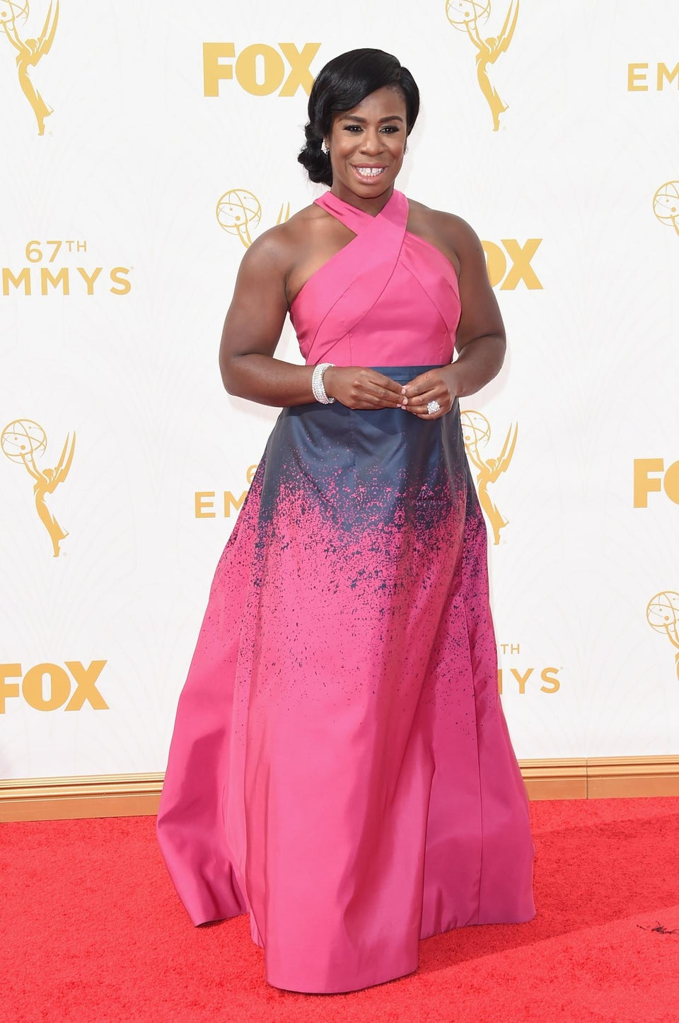 Uzo Aduba Wins Emmy for Best Supporting Actress in a Drama