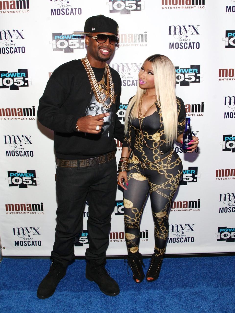 Uh-Oh! Nicki Minaj's Ex Safaree Samuels Could be Taking Her to Court