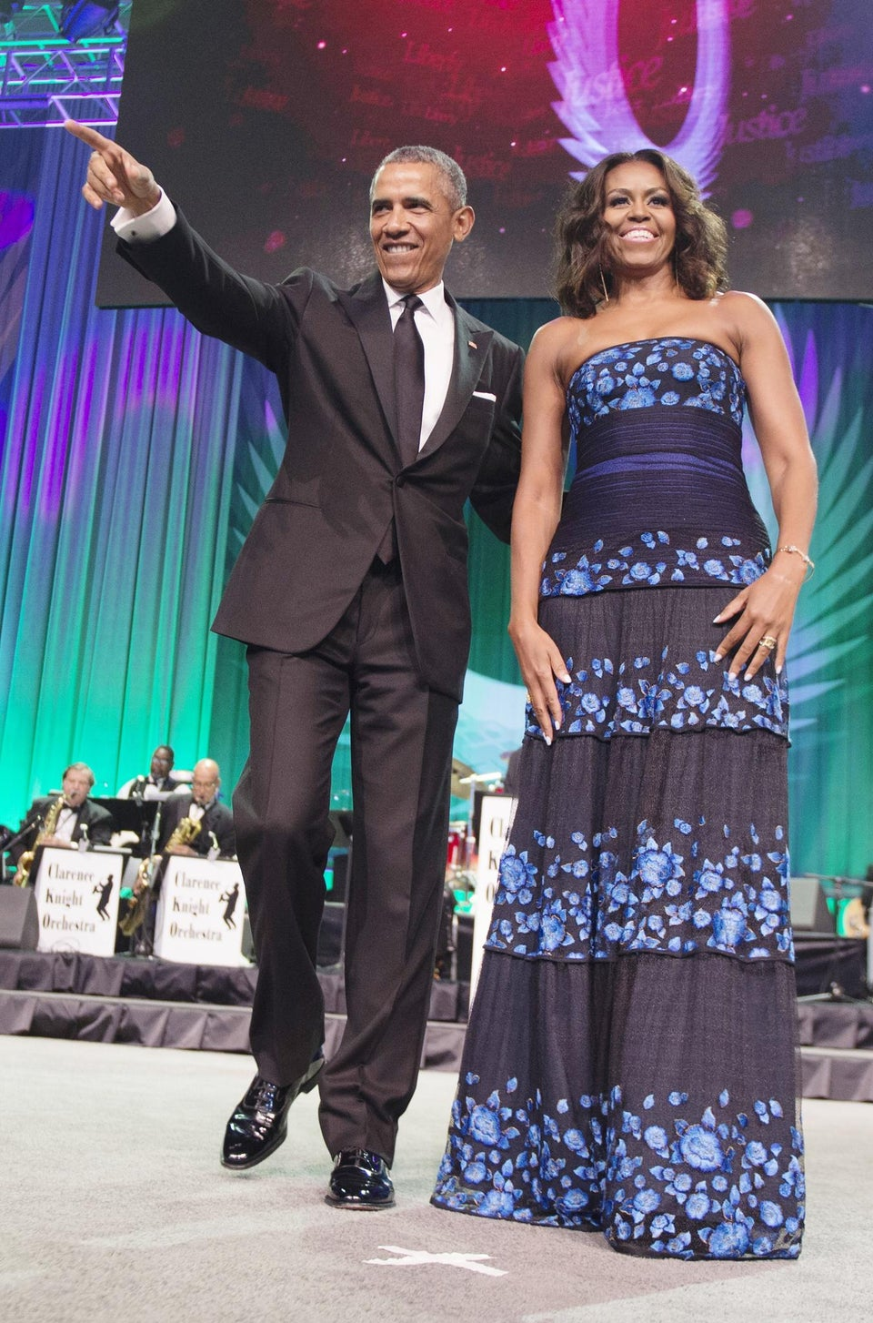 Happy Anniversary! President Obama and First Lady Michelle Obama Celebrate 23 Years of Marriage