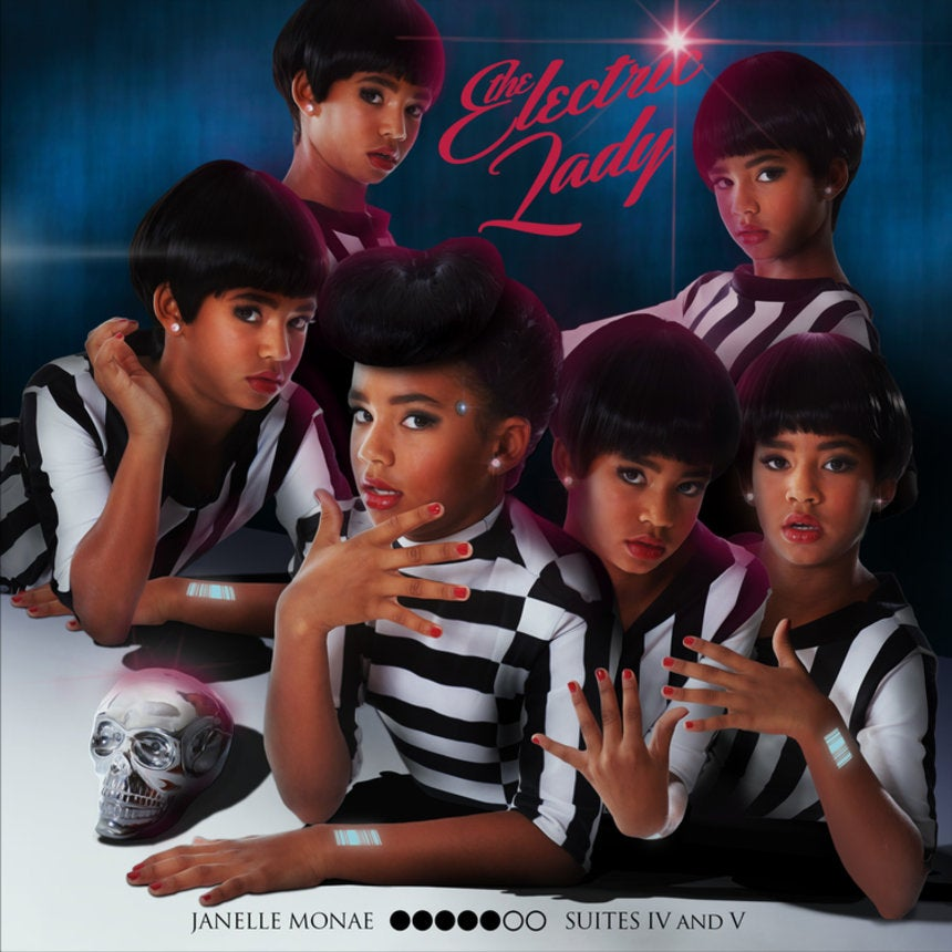 Photo Fab: Check Out An Adorable Girl's Remake of Janelle Monae's 'The Electric Lady' Album Cover