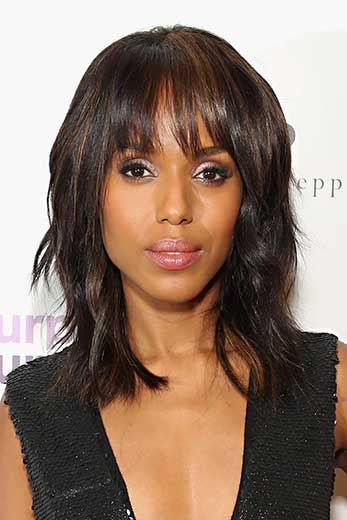 How Kerry Washington Fights Domestic Violence With Style