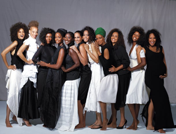 Back Together Again Black Supermodels From The 90s