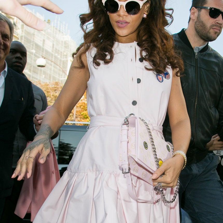 40 Street Style Moments Rihanna Rocked!