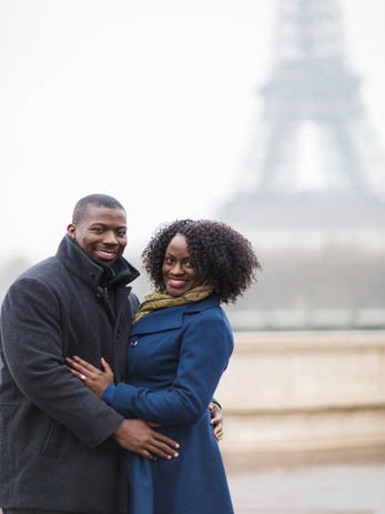 Just Engaged: An Online Connection Leads To The Altar