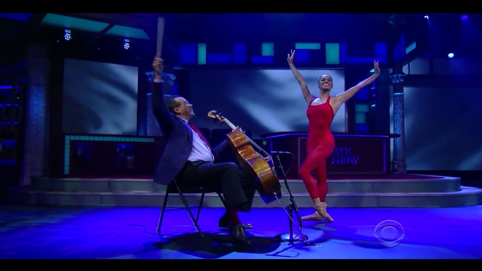 Must See: Misty Copeland Delivers Breathtaking Performance On 'Late Show'
