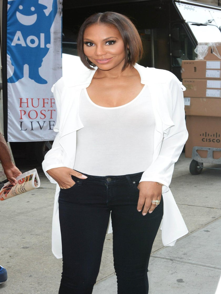 Tamar Braxton On Why She Swapped Her Blonde Wig For a Bob