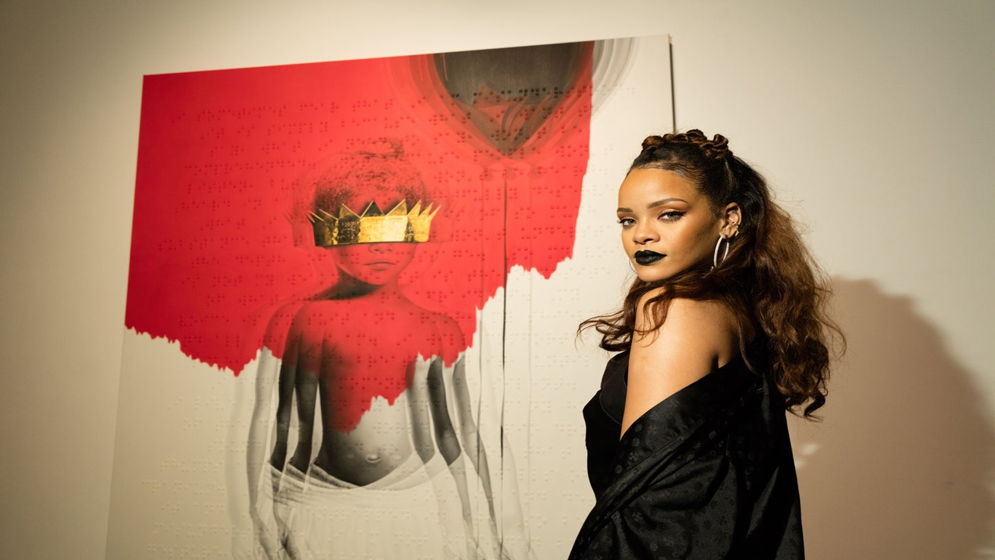Rihanna Makes Gothic Look Glam