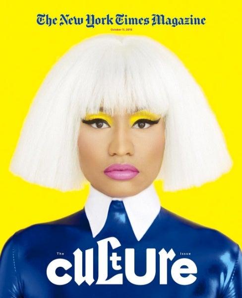 Nicki Minaj is Making White Hair Happen