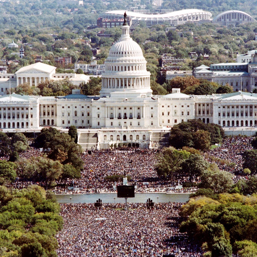 A Look Back: The 20th Anniversary of the Million Man March