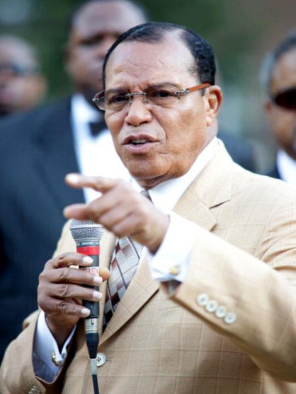 Thousands Gather For Million Man March 20th Anniversary in Washington, D.C.