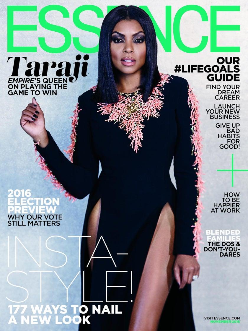 Taraji P. Henson Owns the November Cover of ESSENCE Magazine