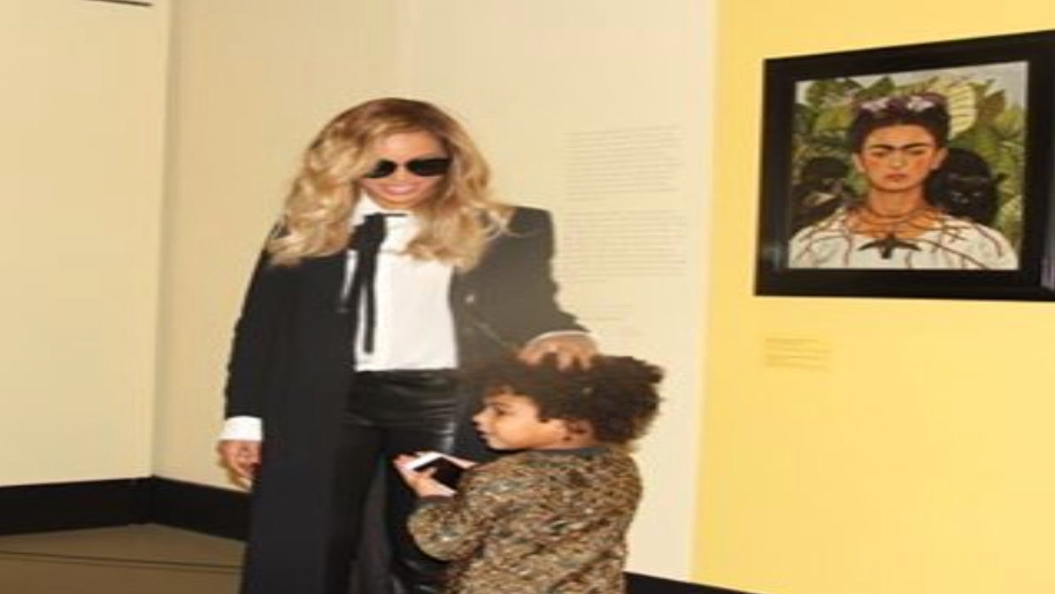 Photo Fab: Beyonce and Blue Ivy Have Some Mommy-Daughter Time at Frida Kahlo Exhibit