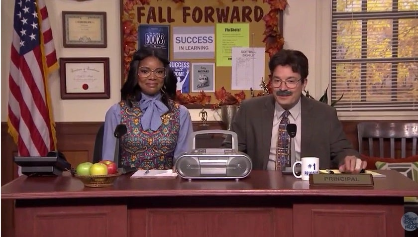 Must-See: Gabrielle Union Is Pretty Hilarious On 'Tonight Show'