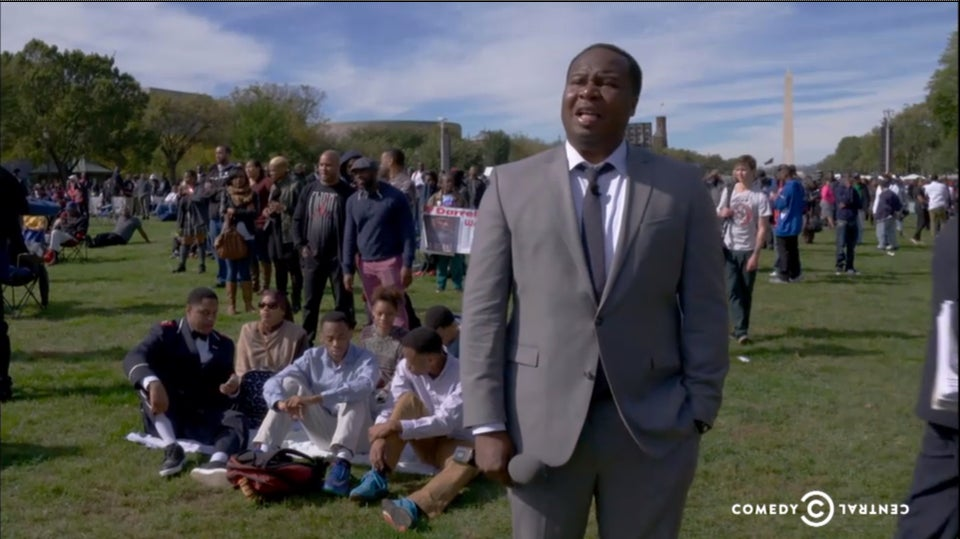 Must-See: 'Daily Show' Correspondent Roy Wood Jr. Crashes Million Man March Anniversary Rally