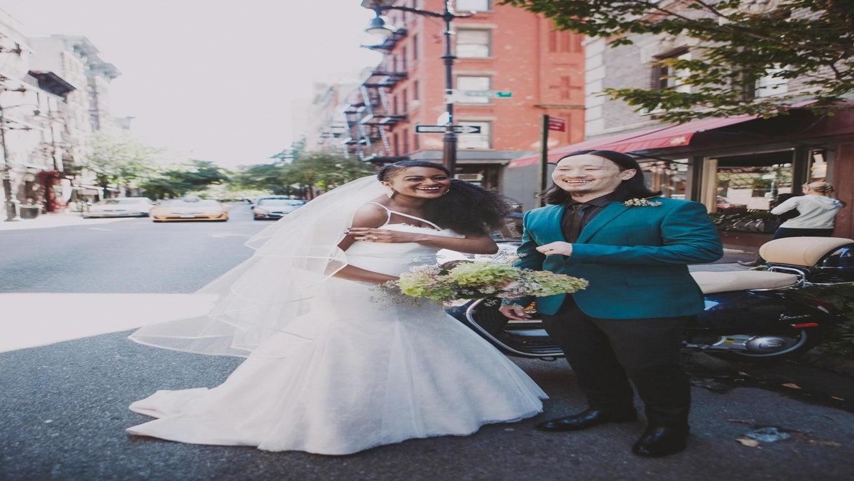 Bridal Bliss: Joslyn and Shannon's New York Wedding