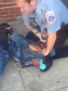 D.C. Police Violently Tackle Black College Student Who Made White Woman Feel 'Uncomfortable'