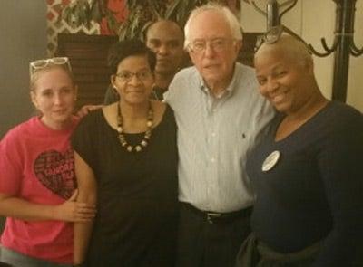Bernie Sanders Secretly Met With Sandra Bland's Mother