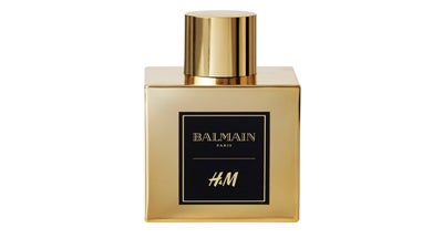 H&M and Balmain Launch Limited Edition Fragrance