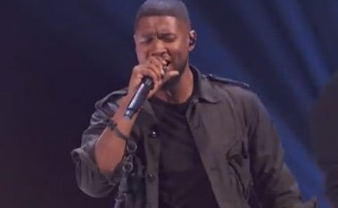 You'll Get Chills Watching Usher Perform 'Chains' For the First Time
