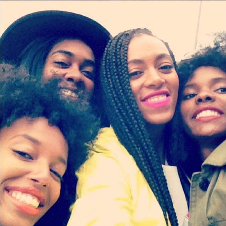 Solange and Her Besties Are the True Definition of #SquadGoals