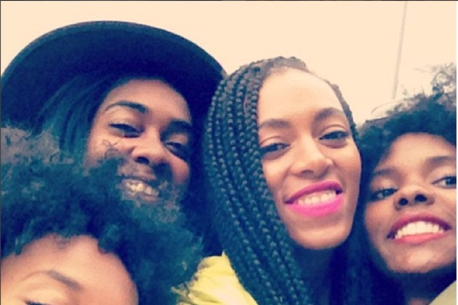 Solange and Her Besties Are the True Definition of Squad Goals ...