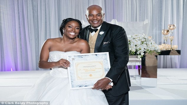 Bride Sparks Online Debate, Receives Hate Mail After Presenting Proof Of Virginity To Father At Wedding
