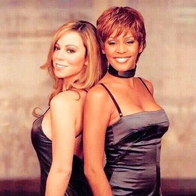 Photo Fab: Mariah Carey Posts Touching Tribute to Whitney Houston