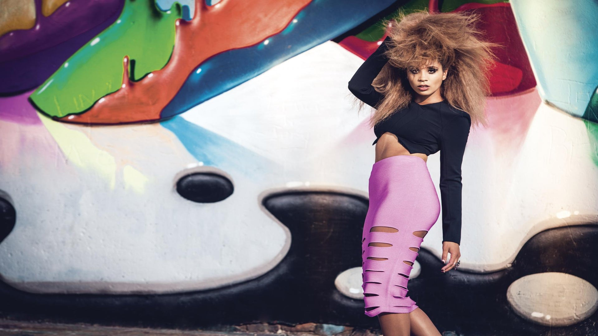 Lion Babe's Jillian Hervey Is a Stylish Rock & Rolla