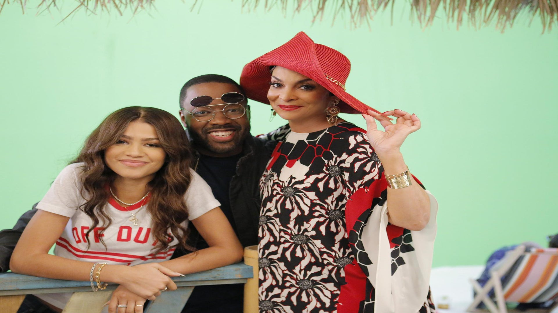 Jasmine Guy and Kadeem Hardison Reunite, Join Zendaya on 'K.C. Undercover'