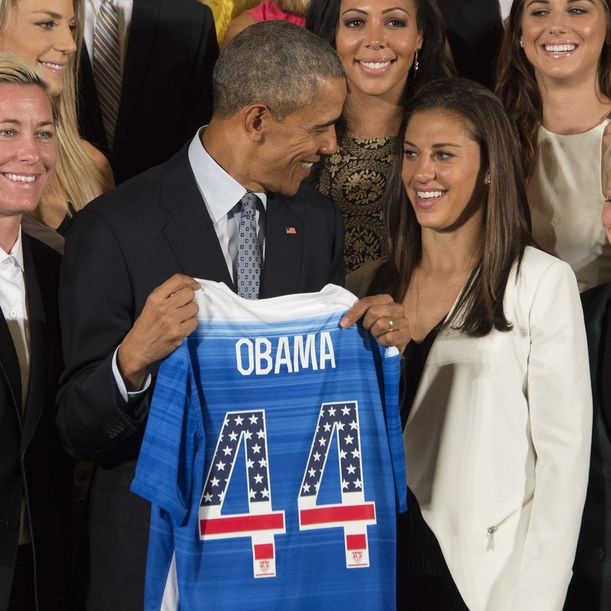 Obama: Women's US Soccer Team Proved 'Playing Like A Girl' Means You're a Badass