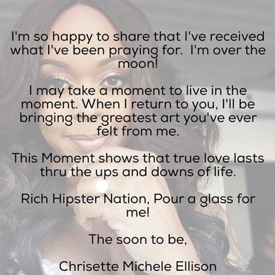 Congrats! Chrisette Michele Announces Engagement