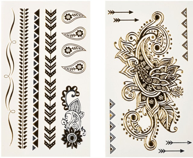 Would You Try Hair Tattoos?