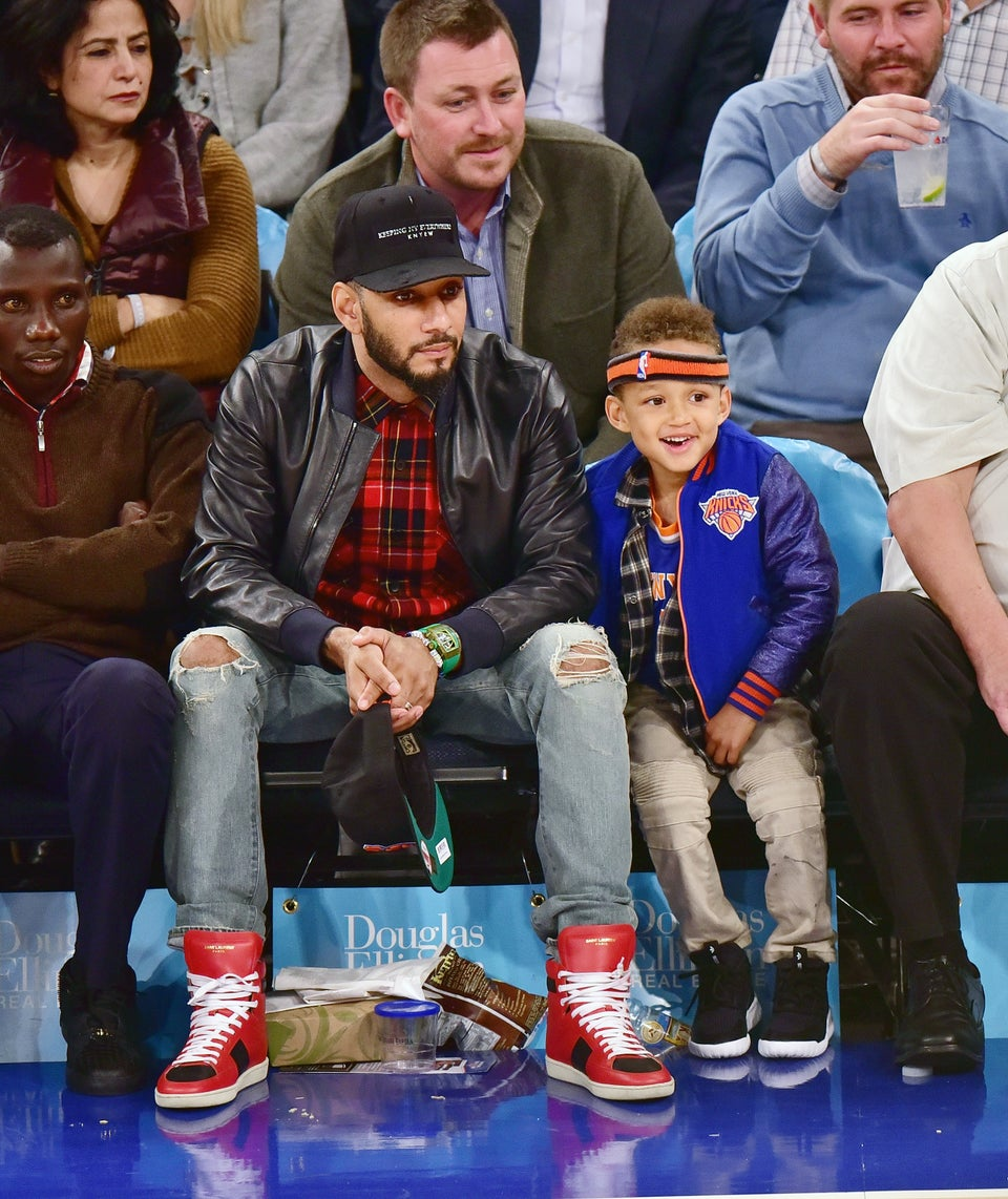 Alicia Keys and Swizz Beatz' Son Eqypt Teams up With Q-Tip for Music Session