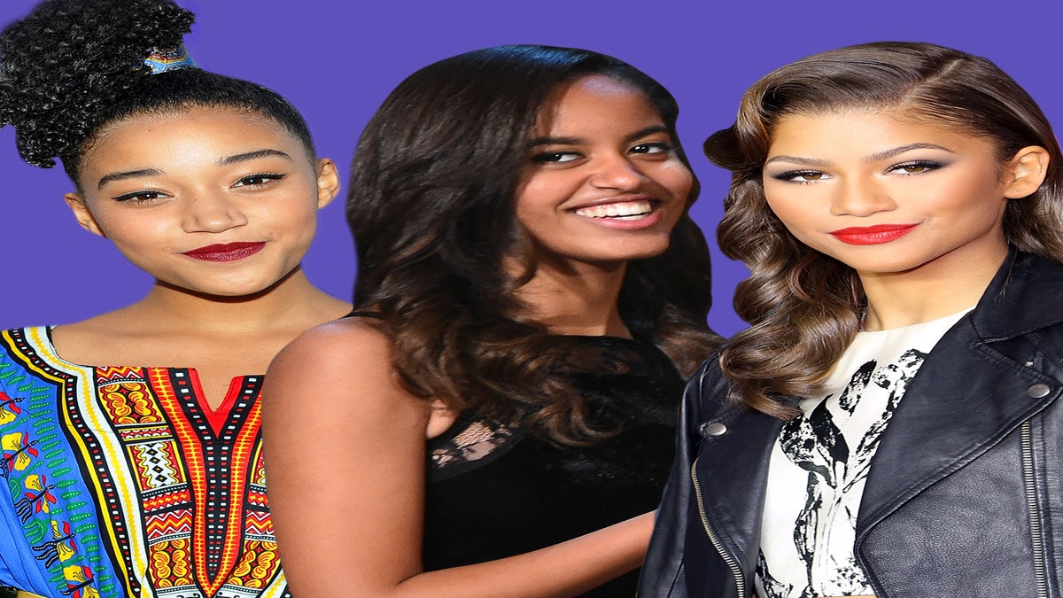 Zendaya, Malia Obama, Amandla Stenberg Named as 'TIME' Magazine's Most Influential Teens