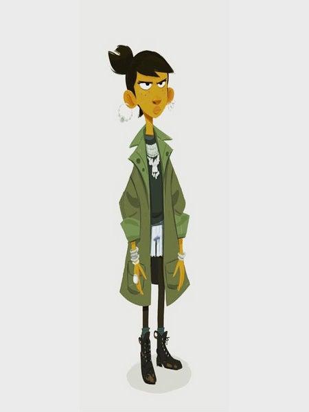 Former Pixar Animator Creates 'The Book of Mojo' with a Black Girl Superhero