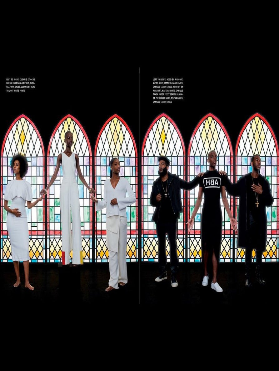 Black Lives Matter Movement Inspires a Powerful Fashion Spread