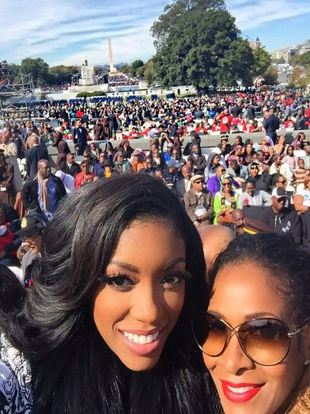 Sherree Whitfield Defends 'RHOA' Producers' Decision to Film at Million Man March