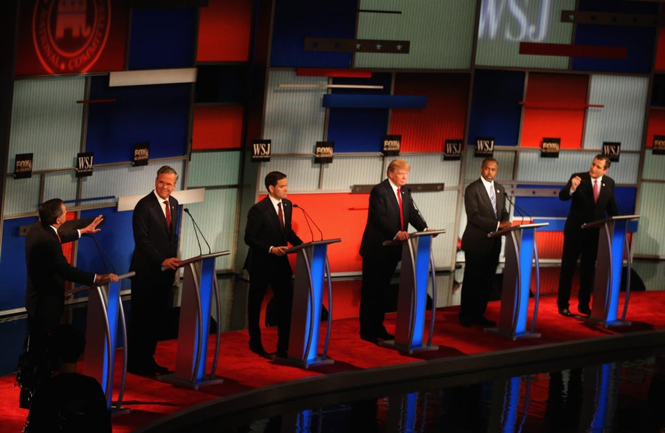 Carson Addresses Minimum Wage, Trump Talks Immigration Wall During Yesterday's GOP Debate
