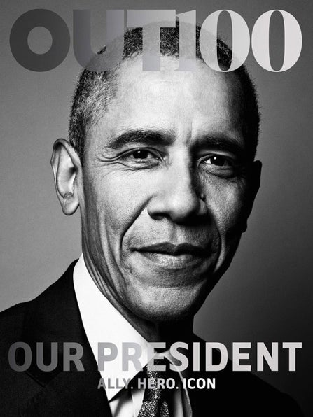 Obama Becomes First Sitting President to Cover an LGBT Magazine