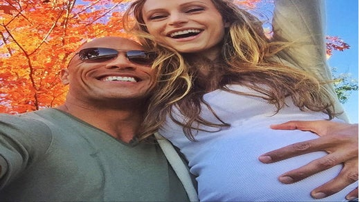 It's a Girl! Dwayne Johnson and Girlfriend Welcome New Baby
