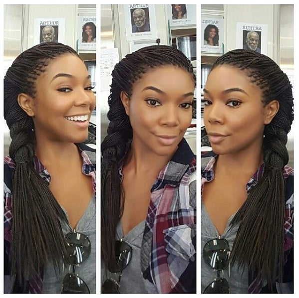 Gabrielle Union on Why She Chose Braids as a Protective Style