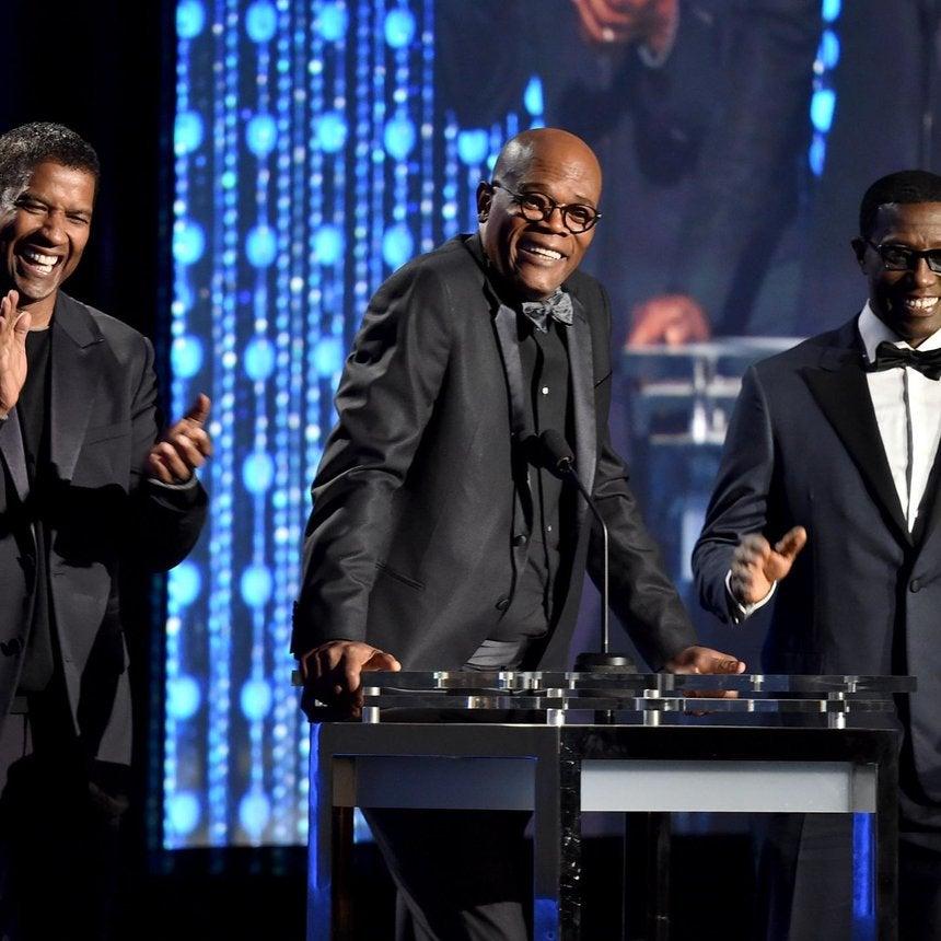 Black Hollywood Celebrates Spike Lee's Honorary Oscar