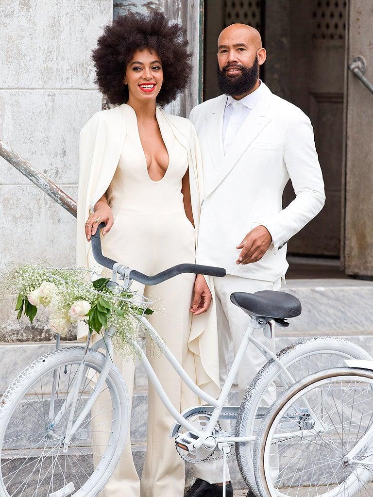 Happy Anniversary! 9 Trends Solange's Wedding Took to the Next Level