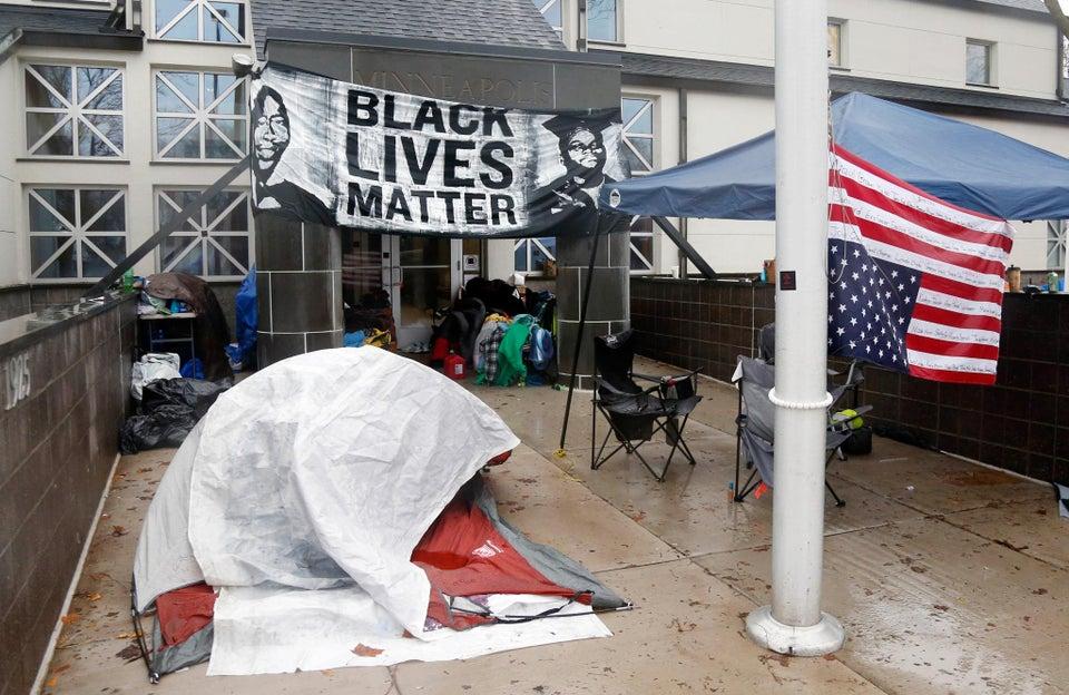 Five Black Lives Matter Protestors Shot in Minneapolis