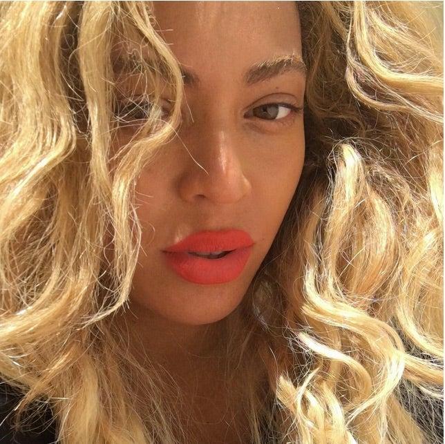 Beyoncé Is Even Blonder