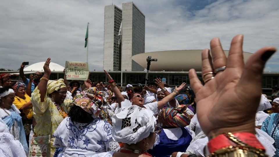 Brazil's First Black Women's March Draws Thousands