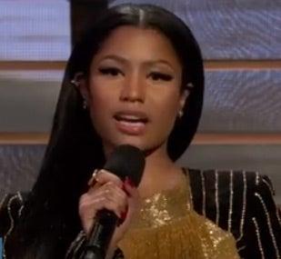 Watch Nicki Minaj Read Maya Angelou's 'Still I Rise'