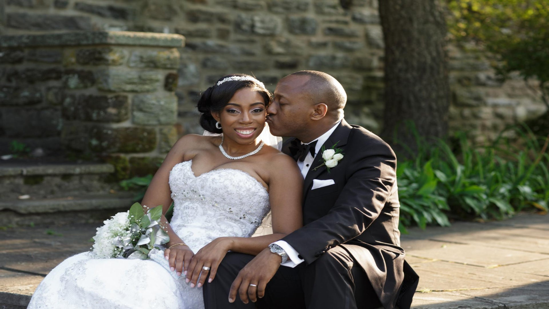 Bridal Bliss: Michelle and Kyrus' Pennsylvania Wedding
